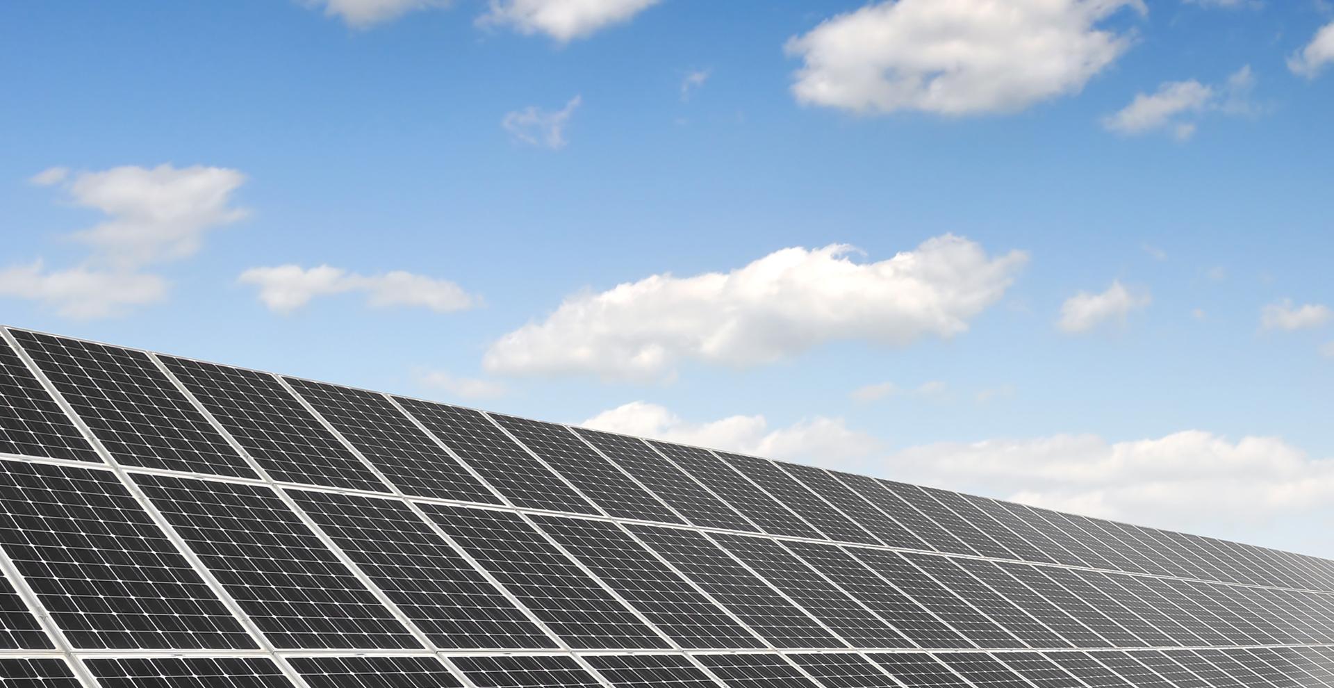 新電力 太陽光発電所